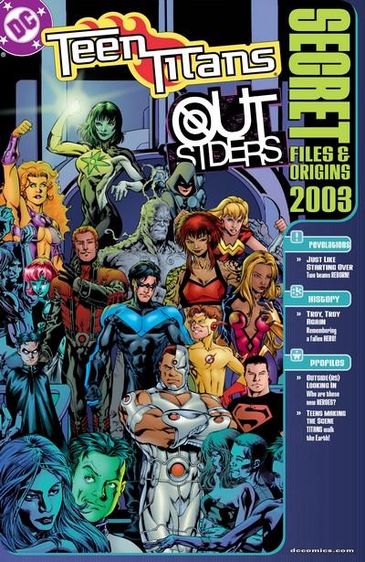 Teen Titans – Outsiders Secret Files & Origins (2003)