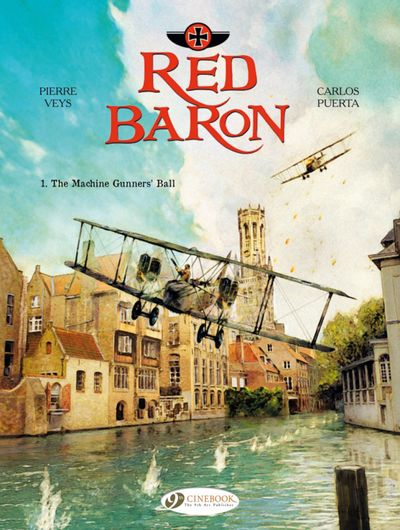 The Red Baron #1 – 3 (2014-2015)