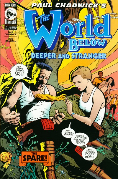 The World Below – Deeper and Stranger #1 – 4 (1999-2000)