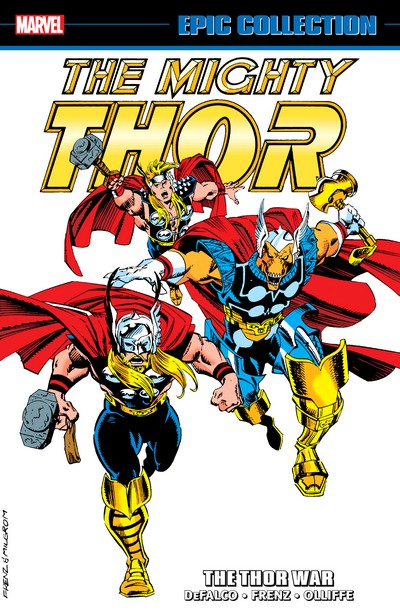 Thor Epic Collection Vol. 19 – The Thor War (2020)