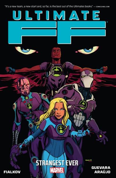 Ultimate FF – Strangest Ever (TPB) (2014)