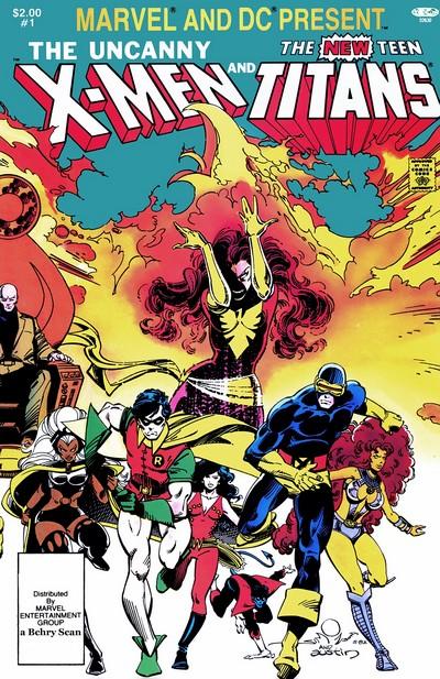 Uncanny X-Men & The New Teen Titans #1 (1982)