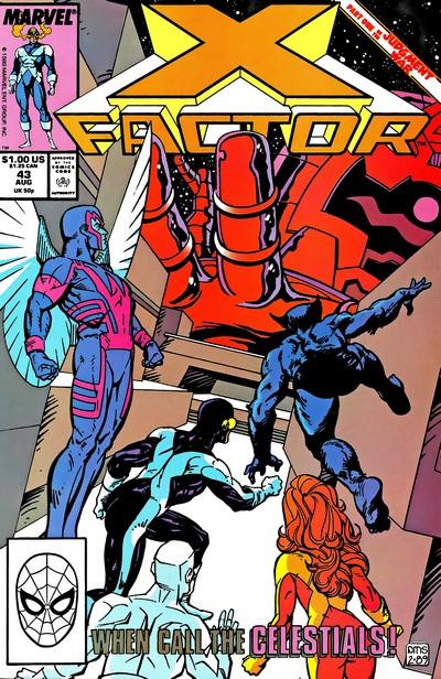 X-Factor – Judgement War (1989) (Fan Made TPB)