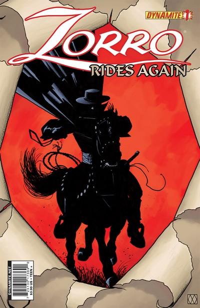 Zorro Rides Again #1 – 12 (2011-2012)