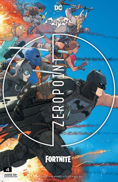 Batman – Fortnite – Zero Point #4 (2021)