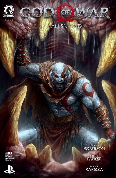 God of War – Fallen God #3 (2021)