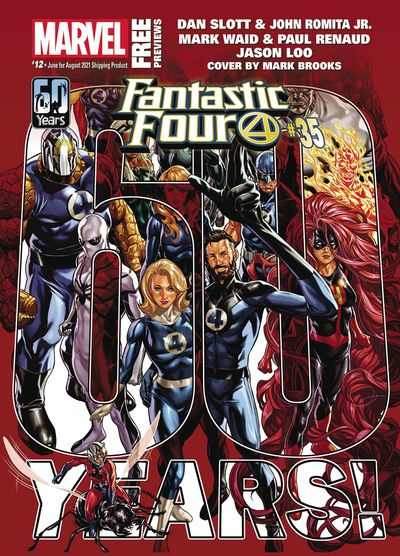 Marvel Previews #12 (June for Aug 2021)