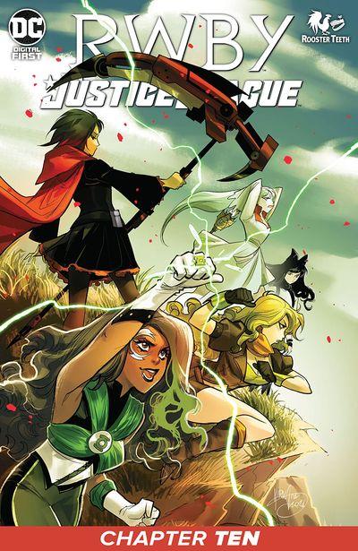 RWBY – Justice League #10 (2021)