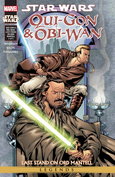 Star Wars – Qui-Gon & Obi-Wan – Last Stand On Ord Mantell #1 – 3 (Marvel Edition) (2015)