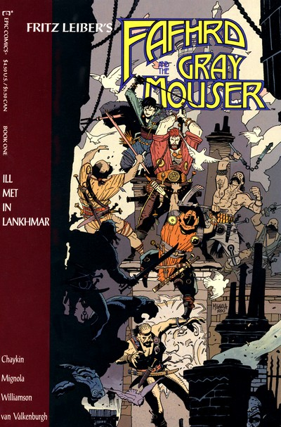 Fafhrd and the Gray Mouser #1 – 4 (1990-1991)