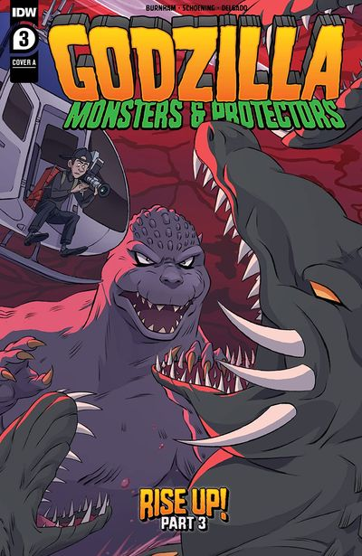 Godzilla – Monsters & Protectors #3 (2021)