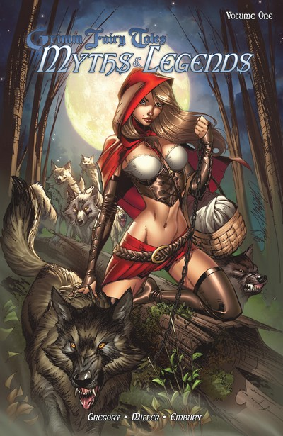 Grimm Fairy Tales – Myths & Legends Vol. 1 – 5 (TPB) (2011-2013)
