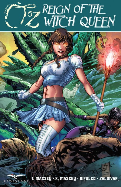 Grimm Fairy Tales presents Oz – Reign of the Witch Queen (TPB) (2015)