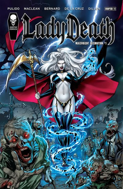 Lady Death (Chapter 11) – Malevolent Decimation #1 (2020)