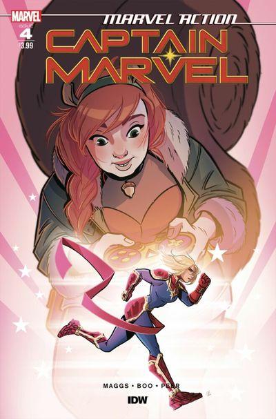 Marvel Action – Captain Marvel #4 (2021)