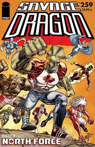 Savage Dragon #259 (2021)