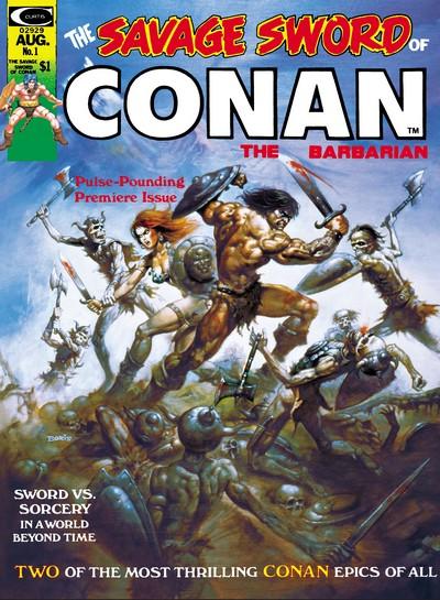 Savage Sword of Conan (1974-1995) + Saga Collection (1987-1995) [Talos Digital Remaster 2021]