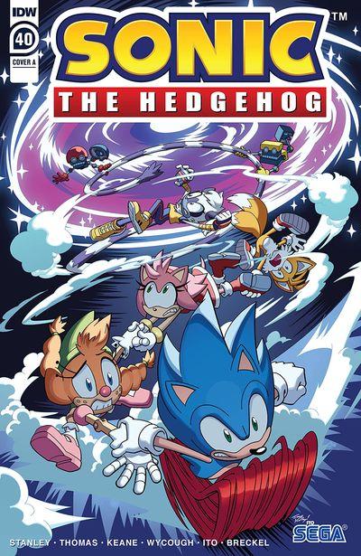 Sonic The Hedgehog #40 (2021)