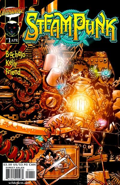 Steampunk #1 – 12 (2000-2002)