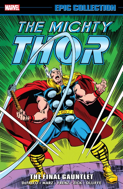 Thor Epic Collection Vol. 20 – The Final Gauntlet (2021)