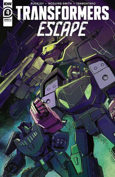 Transformers – Escape #4 (2021)