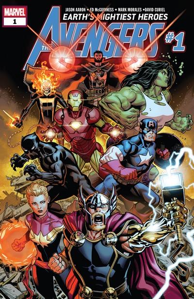Avengers #1 – 46 + TPB (2018-2021)
