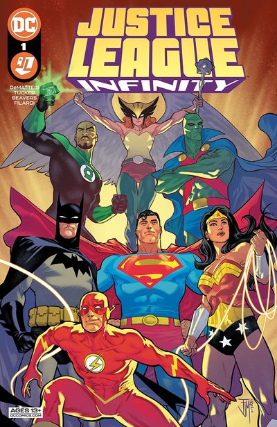 Justice League Infinity #1 (2021)
