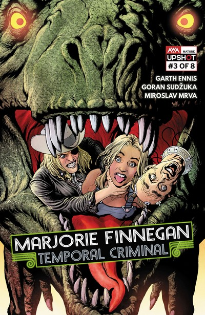 Marjorie Finnegan, Temporal Criminal #3 (2021)