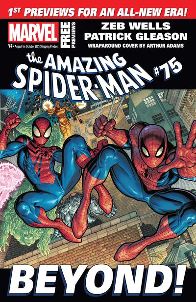 Marvel Previews #14 (Augus for October 2021)