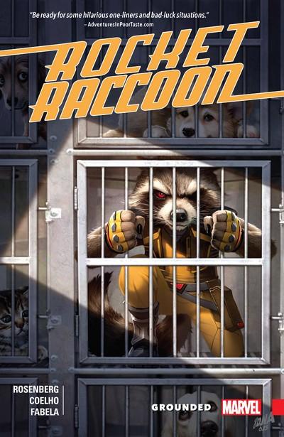 Rocket Raccoon – Grounded (TPB) (2017)