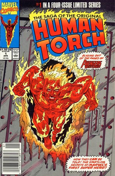 Saga Of The Original Human Torch #1 – 4 (1990)