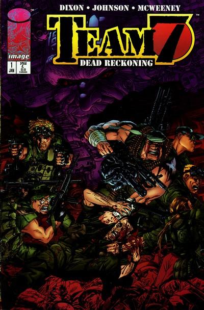 Team 7 – Dead Reckoning #1 – 4 (1996)