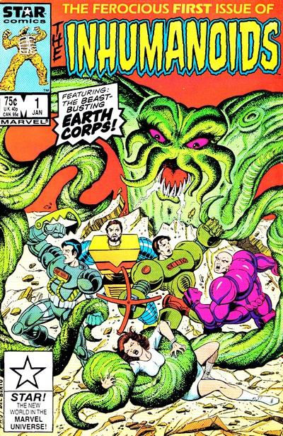 The Inhumanoids #1 – 4 (1987)