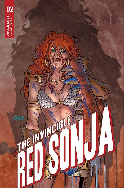 The Invincible Red Sonja #3 (2021)