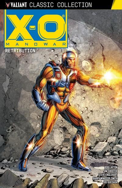 X-O Manowar – Retribution (TPB) (2020)