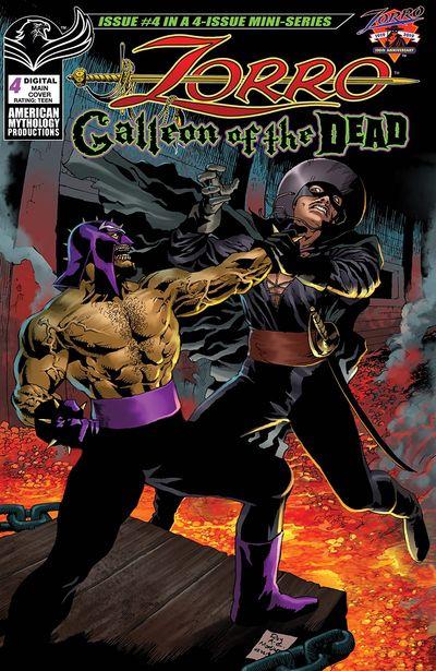 Zorro – Galleon of the Dead #4 (2021)