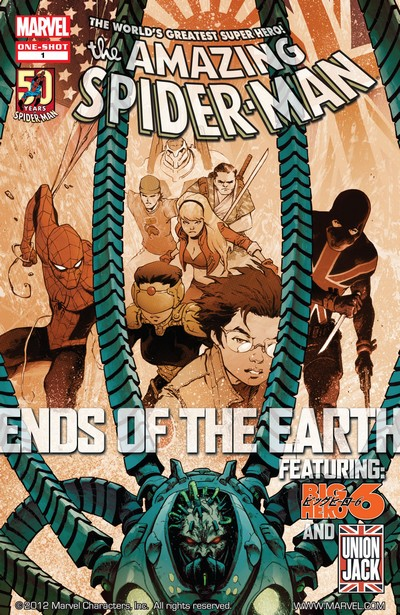 Amazing Spider-Man – Ends of the Earth #1 (2012)