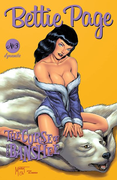 Bettie Page and The Curse of the Banshee #3 (2021)