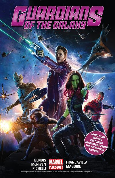 Guardians of the Galaxy by Brian Michael Bendis Vol. 1 – 5 (TPB) (2020)