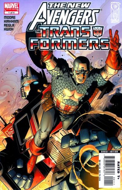 New Avengers – Transformers #1 – 4 (2007)