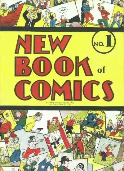 New Book of Comics #1 – 2 (1936-1938)