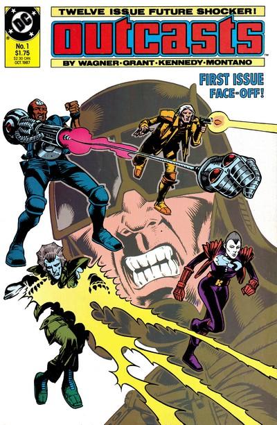 Outcasts #1 – 12 (1987-1988) (DC Comics)