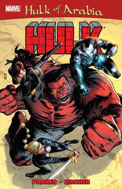 Red Hulk – Hulk of Arabia (TPB) (2014)
