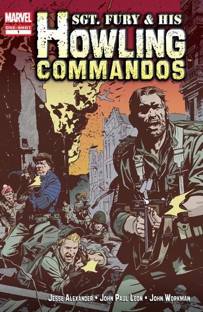 Sgt. Fury & His Howling Commandos #1 (2009)