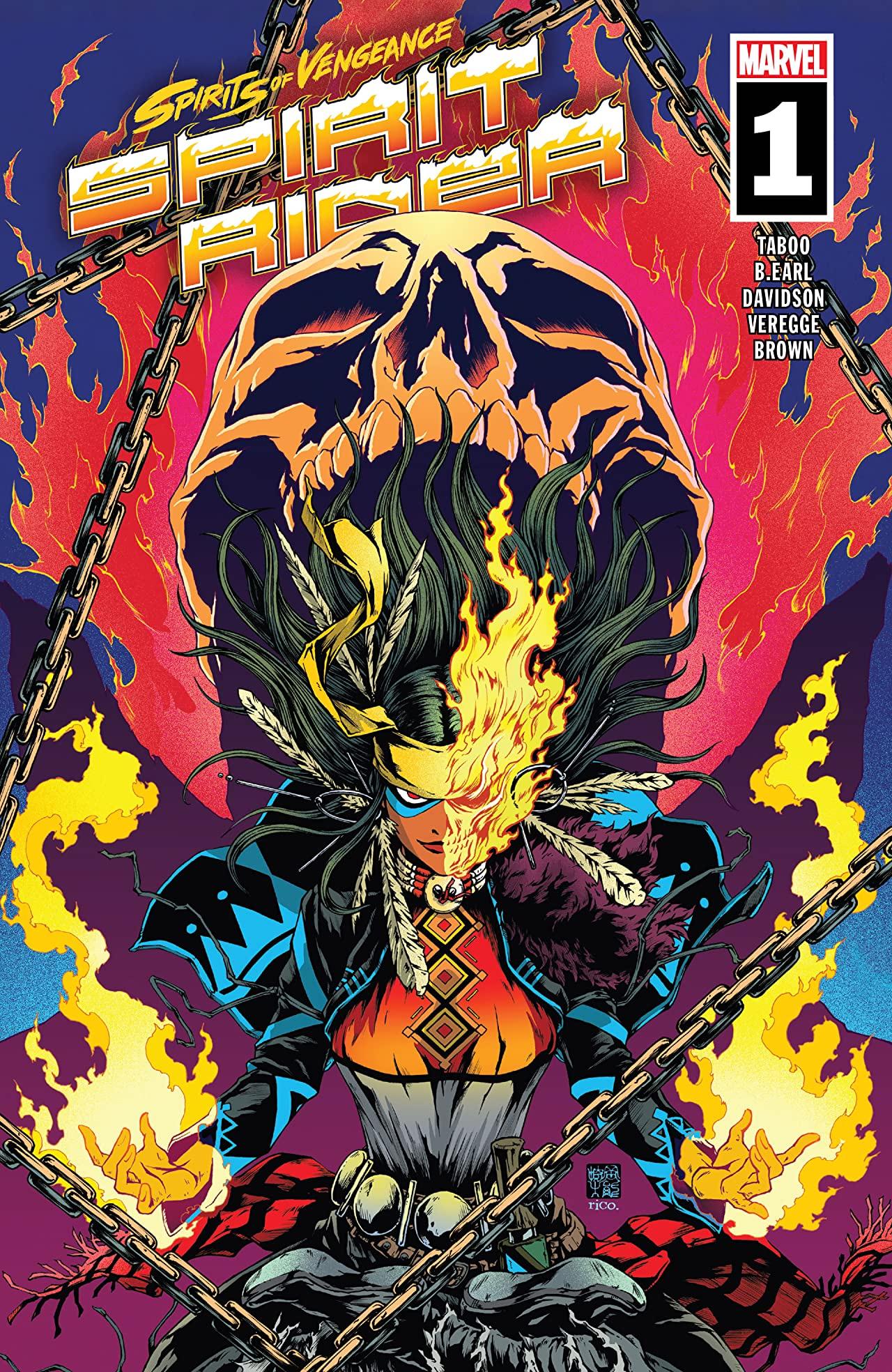 Spirits Of Vengeance – Spirit Rider #1 (2021)