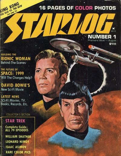 Starlog #1 – 374 + Starlog Presents (1976-2009)