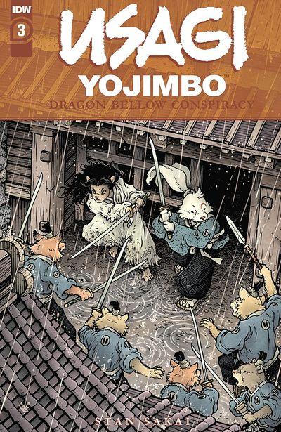 Usagi Yojimbo – The Dragon Bellow Conspiracy #3 (2021)