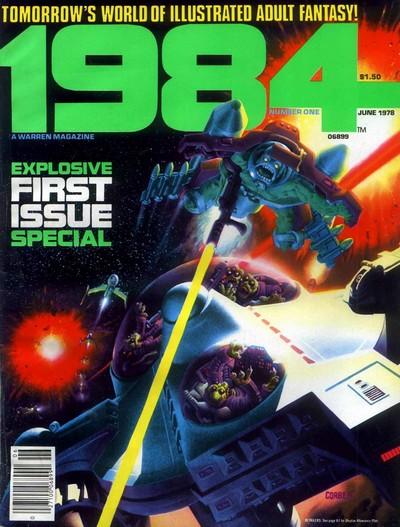 1984 + 1994 Magazine #1 – 29 (1978-1983)