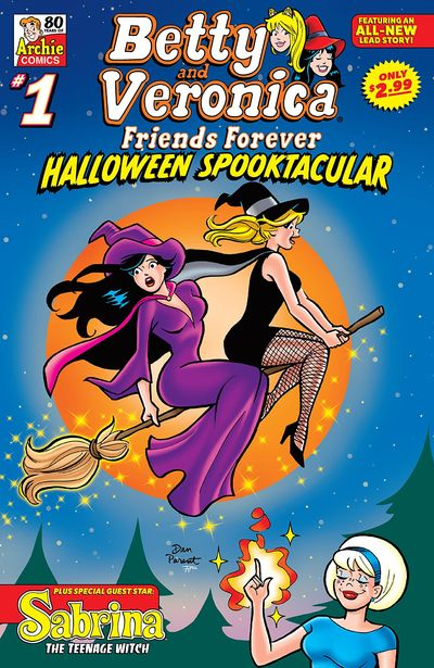 Betty and Veronica Friends Forever – Halloween Spooktacular #1 (2021)