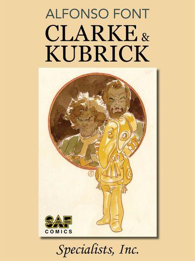 Clarke and Kubrick #1 – 4 (2021)